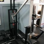 Optimierte Rudermaschine (Drehpunkt oben!) im PLZ Bochum