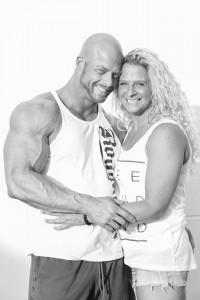 Peter Baers und Nadine Leinecker